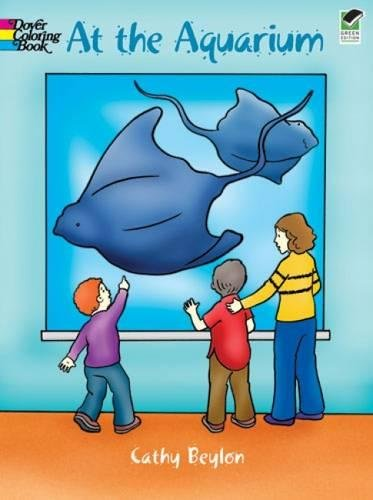At the Aquarium (Dover Coloring Books)