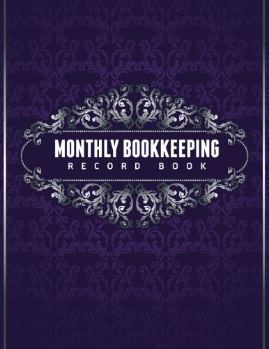 Monthly Bookkeeping Record Book