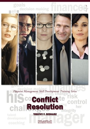 Conflict Resolution: Pinpoint Management Skill Development Training Series