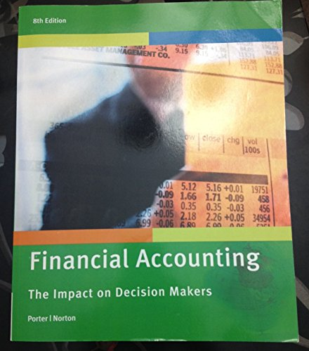 Financial Accounting The Impact On Decision Makers 8th Edition