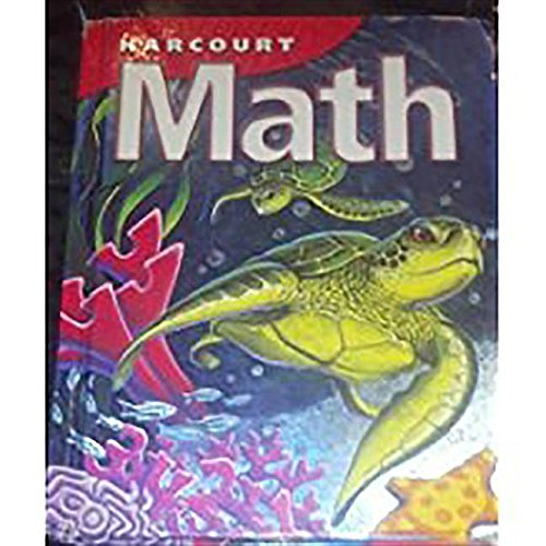 Harcourt School Publishers Math: Student Edition  Grade 4 2002