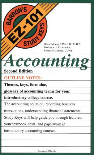 Accounting (EZ-101 Study Keys)