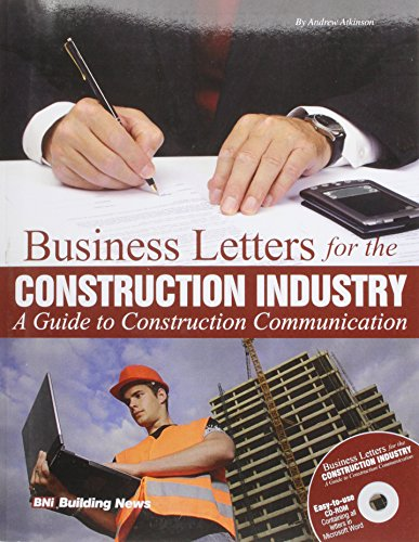 Business Letters for the Construction Industry: A Guide to Construction Communication [With CDROM]
