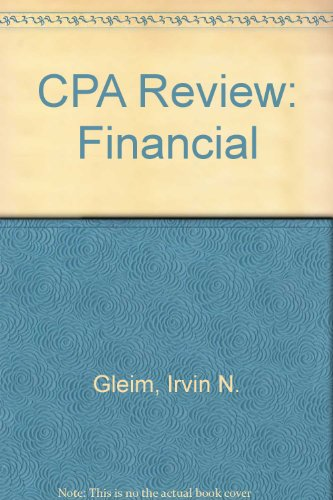 CPA Review: Financial