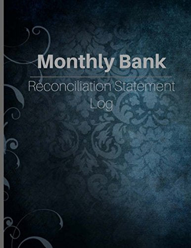 Monthly Bank Reconciliation Statement Log