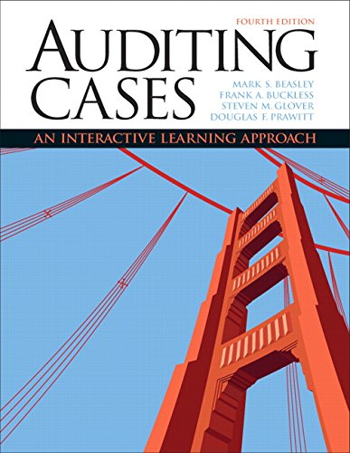 Auditing Cases: An Interactive Learning Approach (4th Edition)