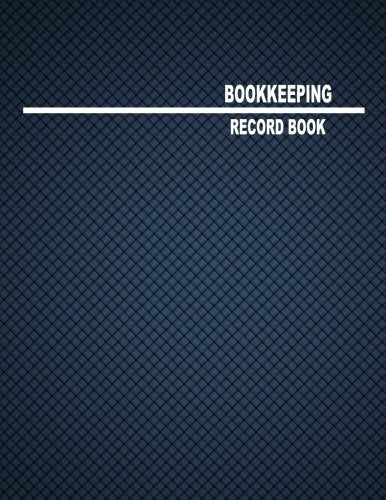 "Bookkeeping Record Book: 4 Columns, 8.5x11"", 80 Pages"