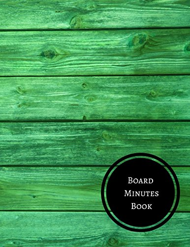 Board Minutes Book: Minutes Log