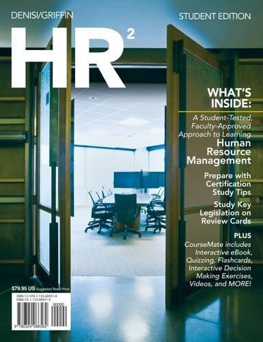 HR2 (with CourseMate and Career Transitions 2.0 Printed Access Card) (New, Engaging Titles from 4LTR Press)