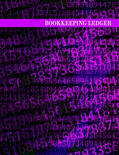 "Bookkeeping Ledger: 3 Columns, 8.5x11"", 128 Pages"