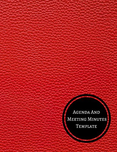 Agenda And Meeting Minutes Template: Minutes Log