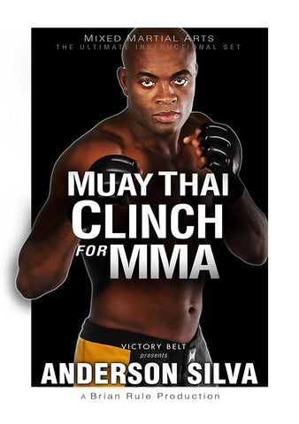 DVD Muay Thai Clinch for MMA with Anderson Silva