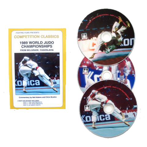 DVD Competition Classics 1989 World Judo Championships from Belgrade