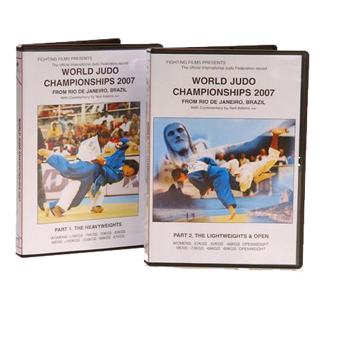 DVD 2007 Rio World Judo Championships, Part 2. The Lightweights & Open