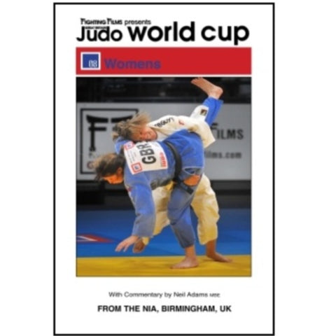 DVD 2008 Womens GB Judo World Cup from Birmingham
