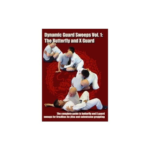 DVD Dynamic Guard Sweeps Volume 1: The Butterfly and X Guard by Stephan Kesting