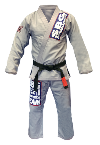Straight Blast Gym Official Limited Edition 25 Year Silver Anniversary Gi