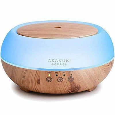 Asakuki Premium Touch Sensitive Essential Oil Diffuser 300Ml-5 In 1 Ultrasonic - Aromatherapy Diffusers