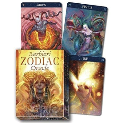 Barbieri Zodiac Oracle - Oracle Cards
