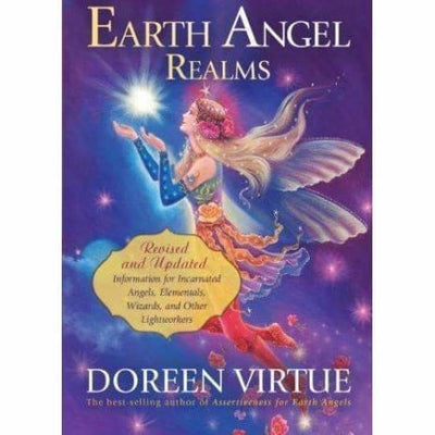 Earth Angel Realms: Revised And Updated Information For Incarnated Angels Elementals Wizards And Other Lightworkers - Books