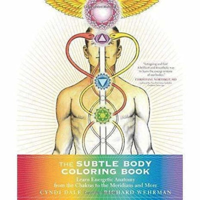The Subtle Body Coloring Book: Learn Energetic Anatomy - Coloring Books