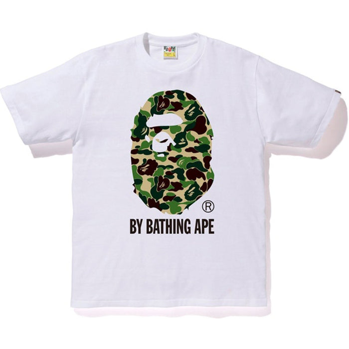 BAPE ABC By Bathing Tee White/Green