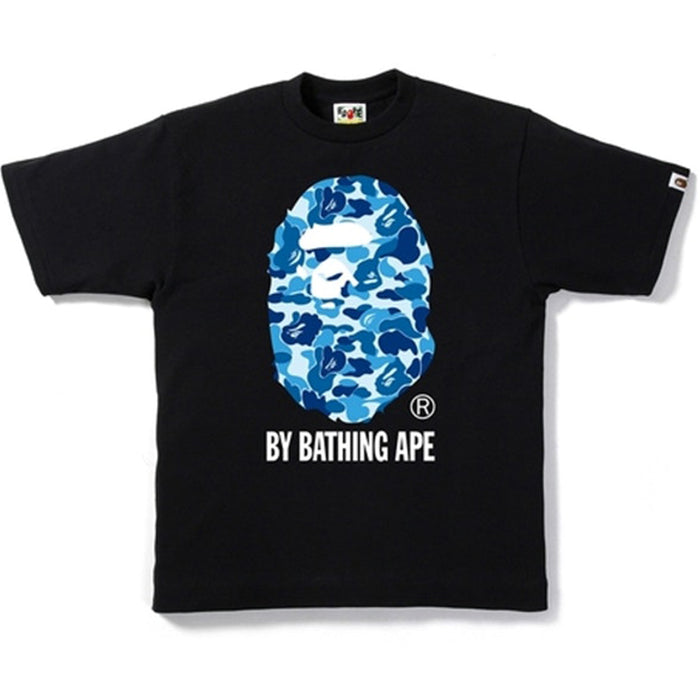 BAPE ABC Camo By Bathing Tee Black/Blue