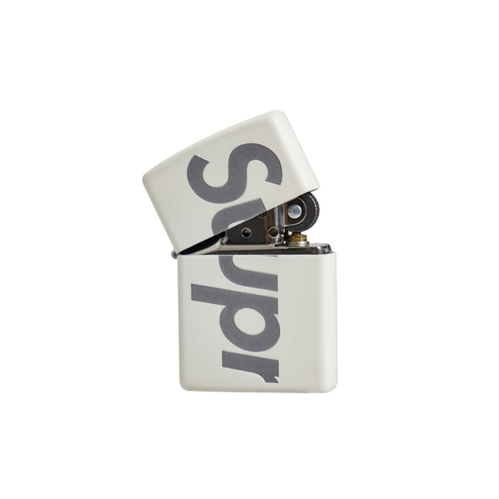 Supreme Glow In The Dark Zippo White