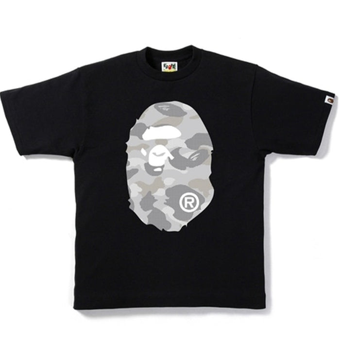 BAPE Dot Camo Big Ape Head Tee Black/Grey