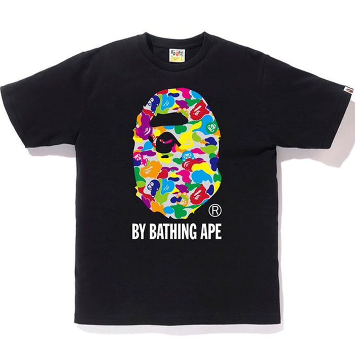 BAPE Milo ABC Multi By Bathing Tee Black