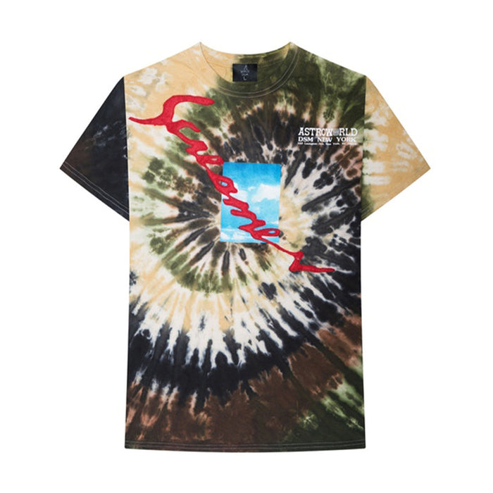 Travis Scott Astroworld X DSM NY Screamer Tee Tie Dye