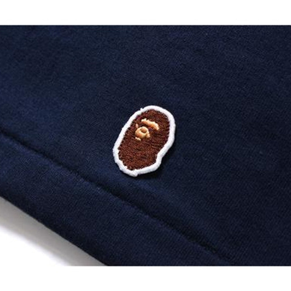 BAPE Head Patch Tee Navy