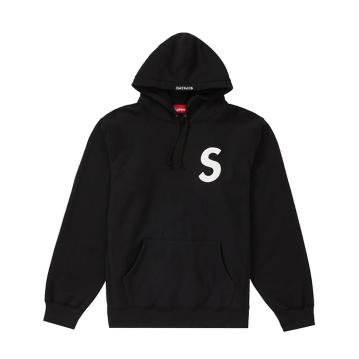 Supreme S Logo Hooded Sweatshirt (SS20) Black