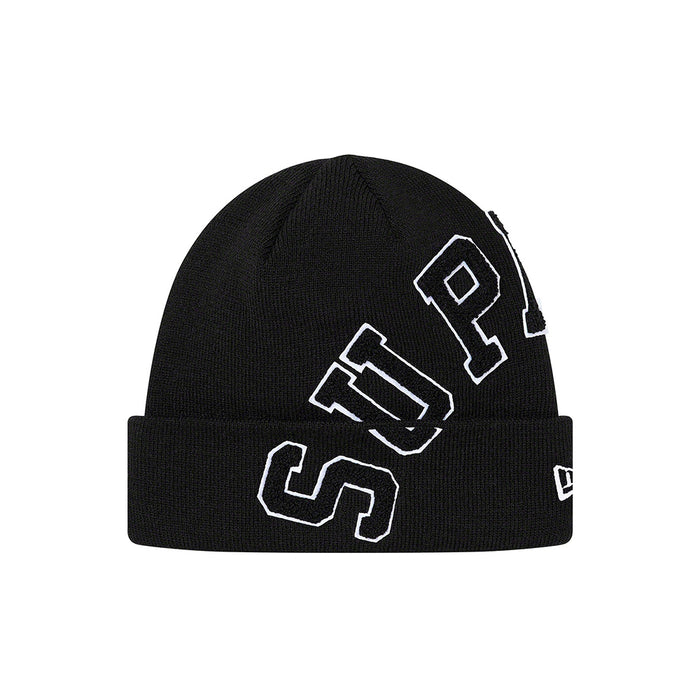 Supreme New Era Big Arc Beanie Black