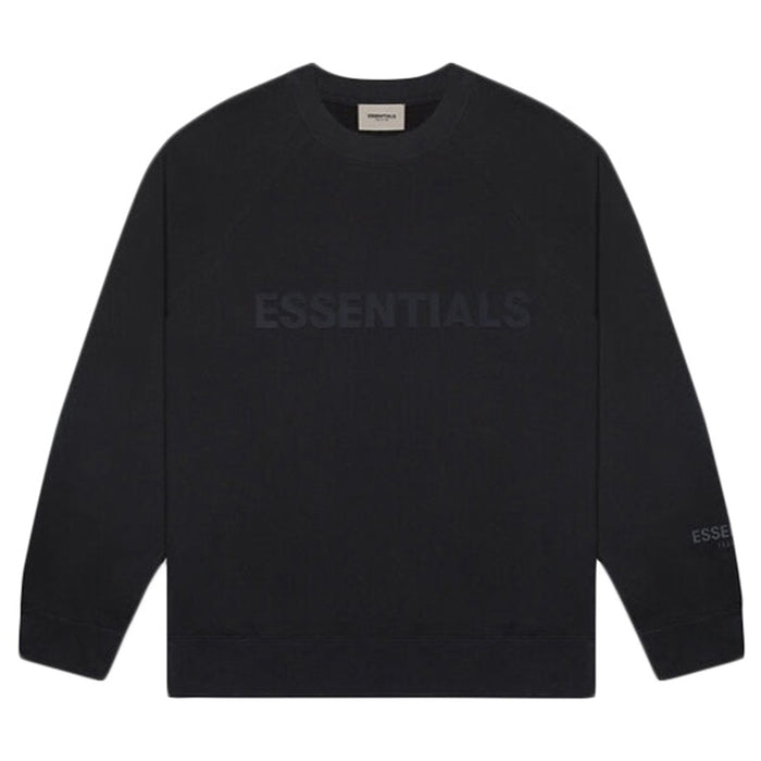 FOG ESSENTIALS Applique Crewneck Black (SS20)