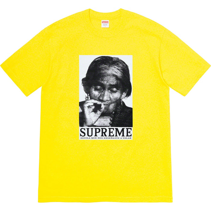 Supreme Aguila Tee Yellow