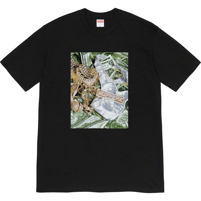 Supreme Bling Tee Black