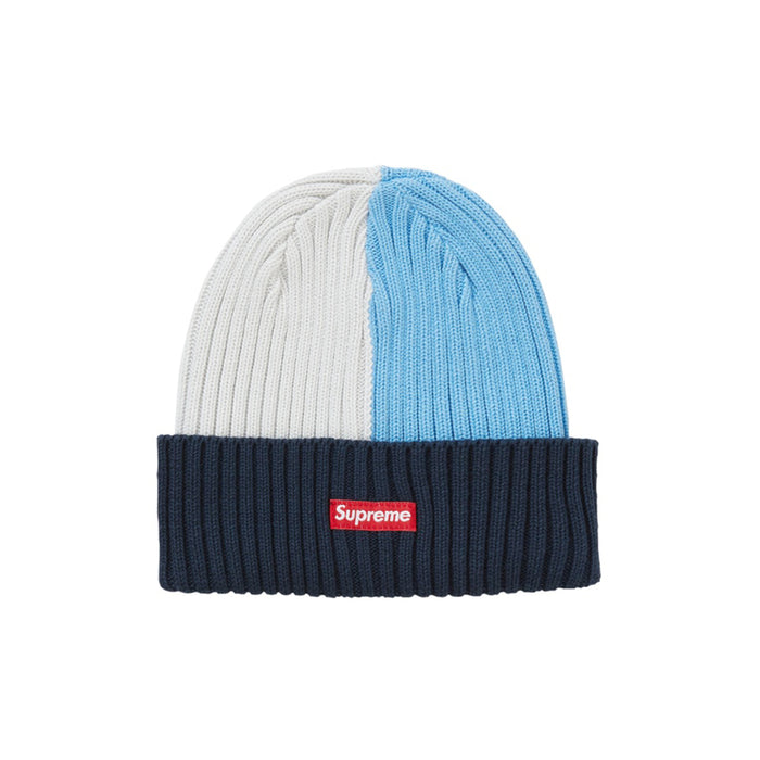 Supreme Overdyed Beanie (SS20) Mixed Blue