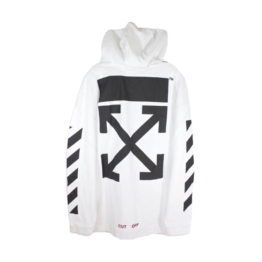 Off-White Annunciazione White All Over Hoodie