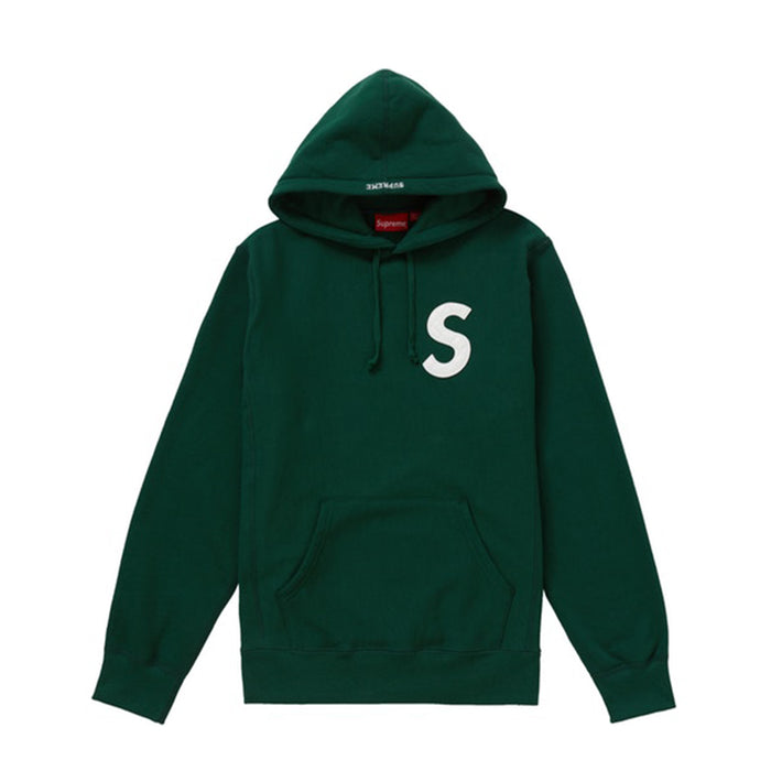 Supreme S Logo Hooded Sweatshirt (SS20) Dark Green