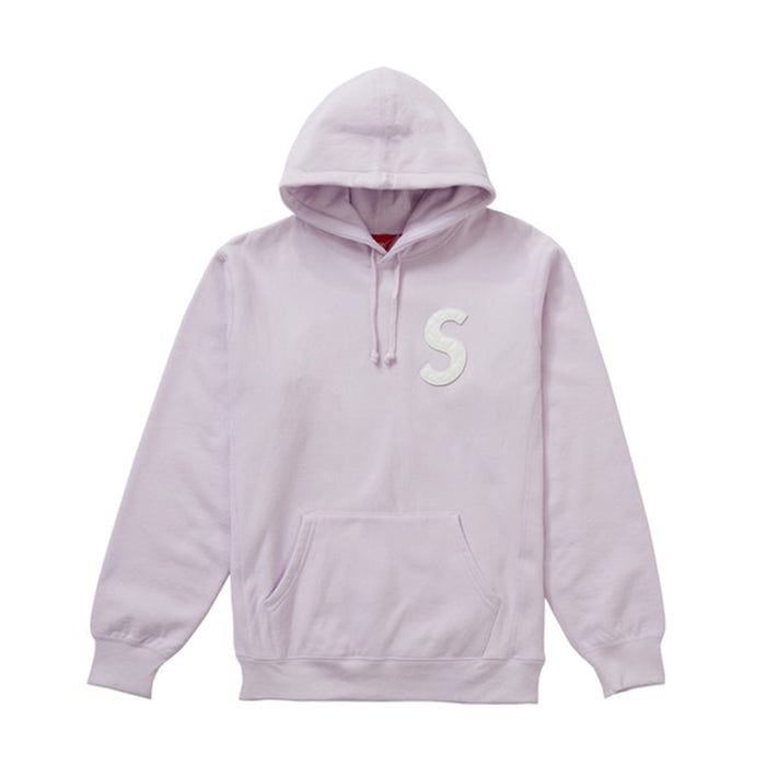 Supreme S Logo Hooded Sweatshirt (SS20) Light Purple