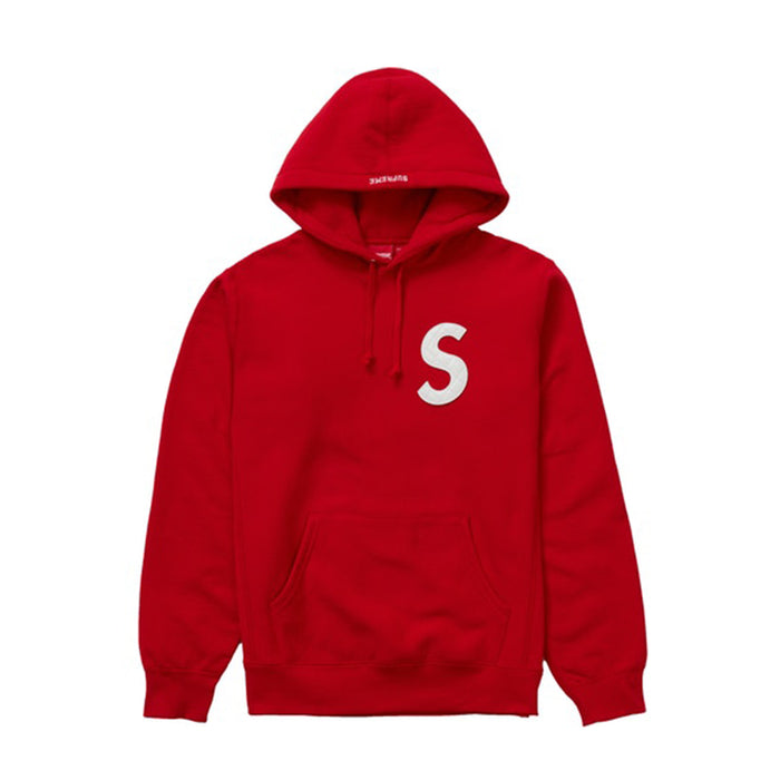 Supreme S Logo Hooded Sweatshirt (SS20) Red