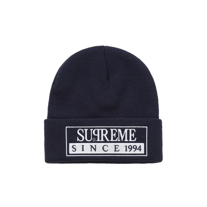 Supreme Reserved Beanie Navy