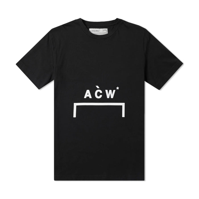 A Cold Wall Brckt Logo SS Tee Black