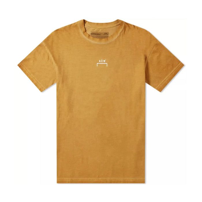 A Cold Wall Brckt Logo SS Tee Brown