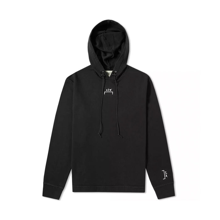 A Cold Wall Logo Hoodie Black