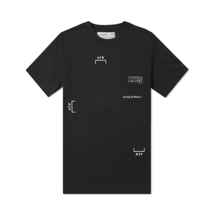A Cold Wall Mlti Logo SS Tee Black