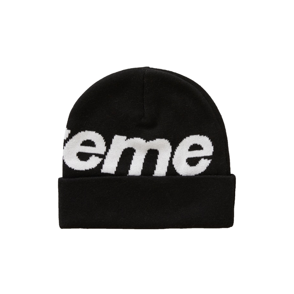 Supreme Big Logo Beanie (FW20) Black