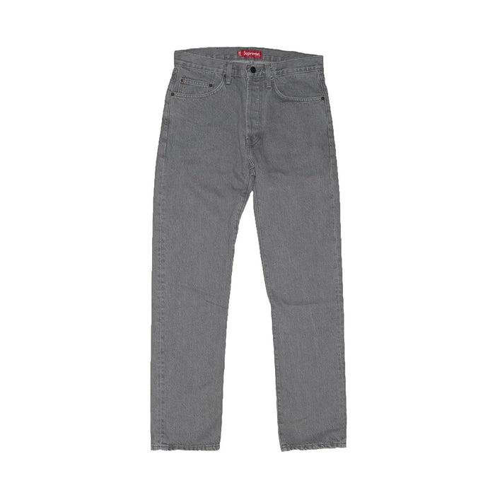 Supreme F/W13 Euro Abrasion Denim Grey Wash