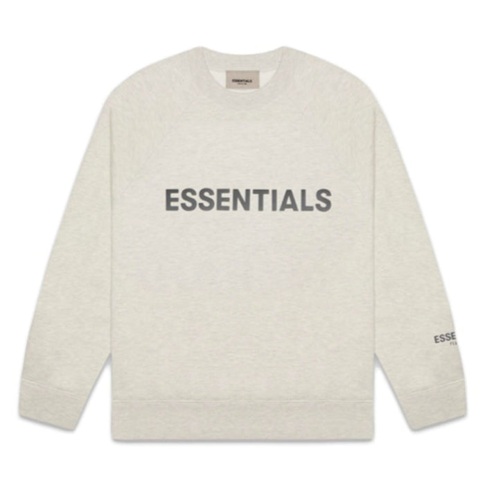 FOG ESSENTIALS Applique Crewneck Oatmeal Heather (SS20)